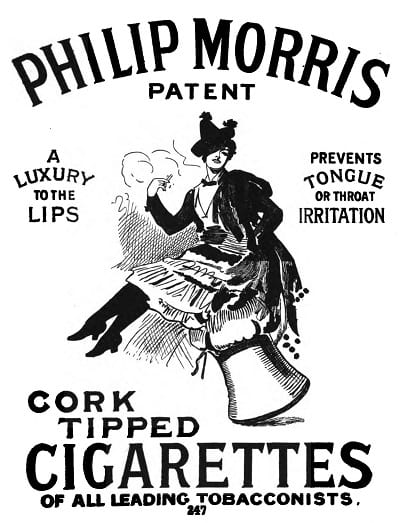 A poster advertisement of Philip Morris