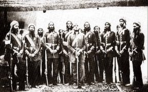 Members of the 11th Sikh Regiment