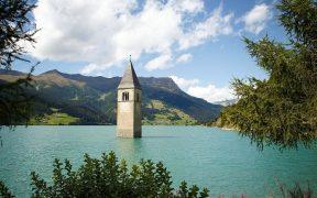 Lake Reschen bell tower
