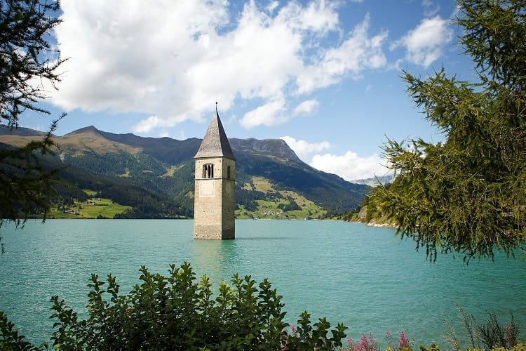 Lake Reschen bell tower