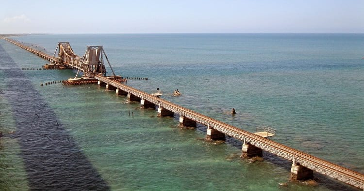 Overview of Pamban Bridge