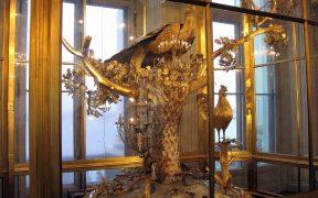 Peacock clock at Hermitage Museum