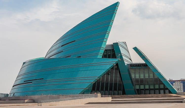 Concert hall in Astana.