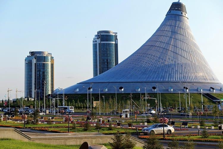 Khan Shatyr Entertainment Center, Astana.