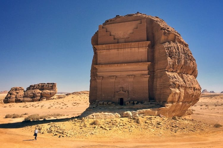 Madain Saleh, near Al 'Ula