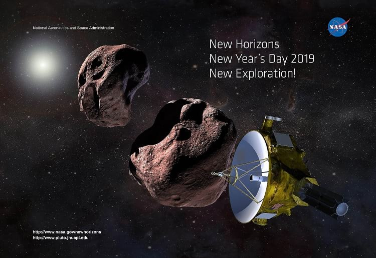 Artistic impression of a non-contact version of Ultima Thule
