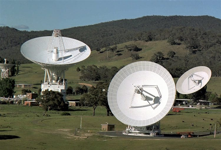 Deep Space Communications Complex in Canberra