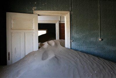 Abandoned house in Kolmanskop