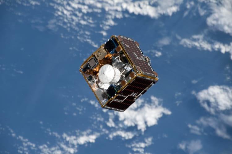 A RemoveDEBRIS satellite by NanoRacks