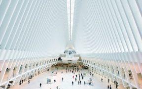 World Trade Center station interior