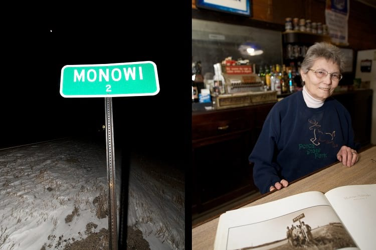 Monowi Nebraska A Village In Boyd County United States With A