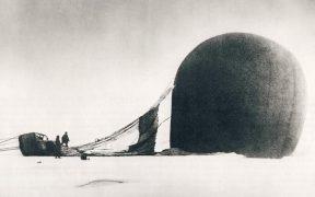 Photo of the fallen balloon