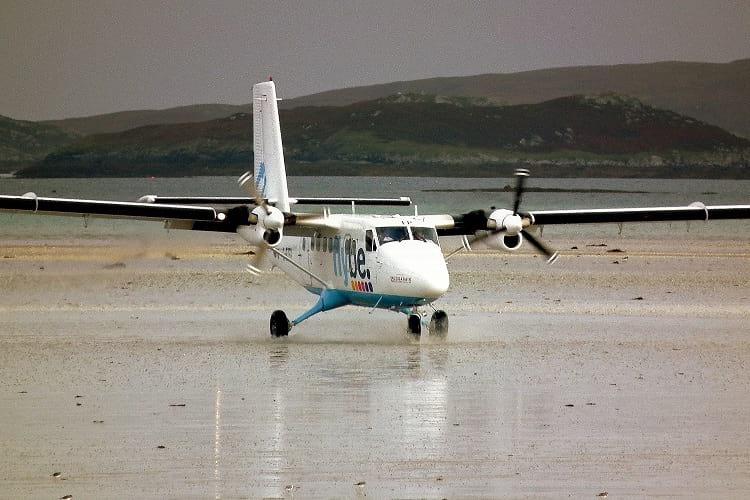 Barra Airport runway
