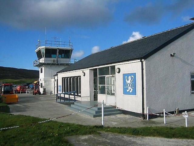 Barra Airport terminal.
