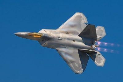 Lockheed Martin F-22A Raptor.