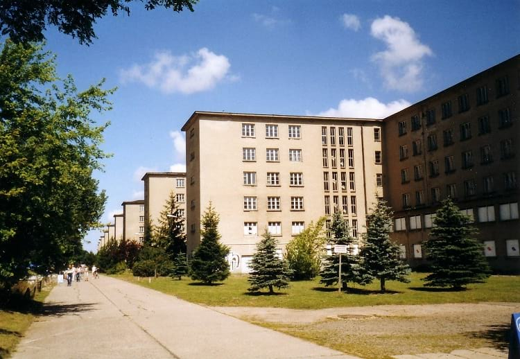 Prora view from the land-sid