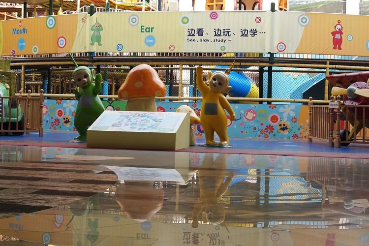 Teletubbies Amusement Park at the South China Mall.