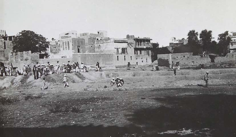 The north-eastern side of the Bagh