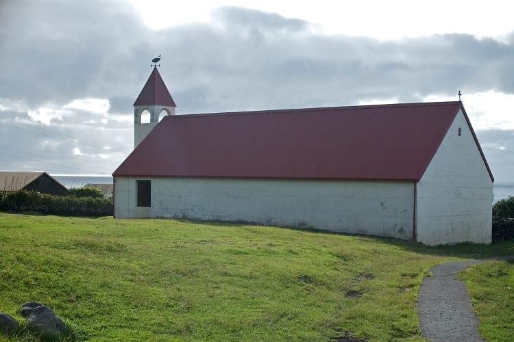 Church in Tristan da Cunha.