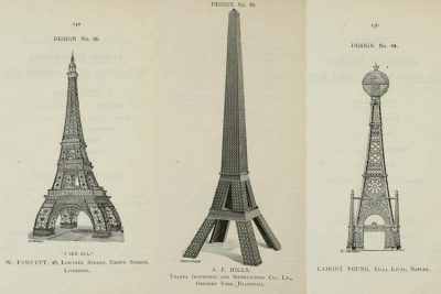 Three proposed designs for The Great Tower for London