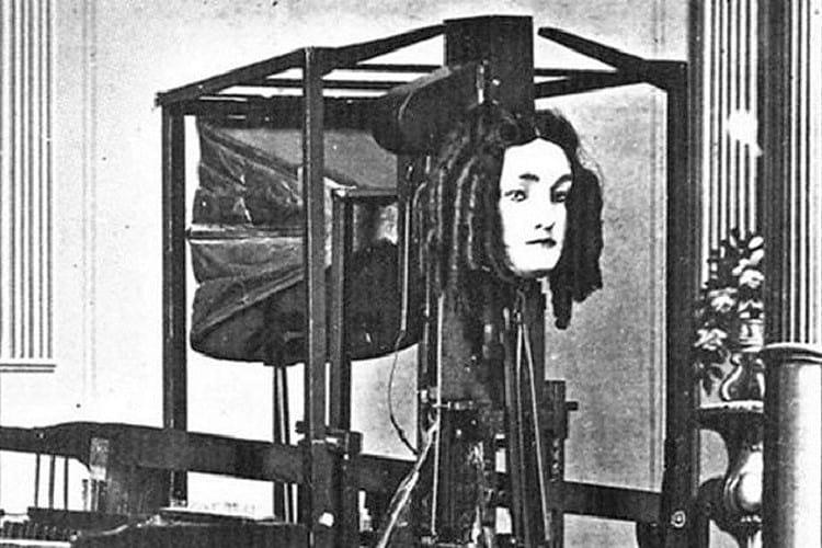 Euphonia, the talking machine.