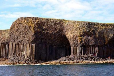 Fingal's Cave, Staffa Island.
