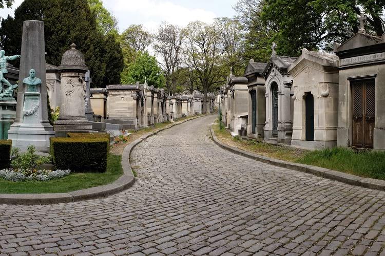 Pere Lachaise Cemetery.