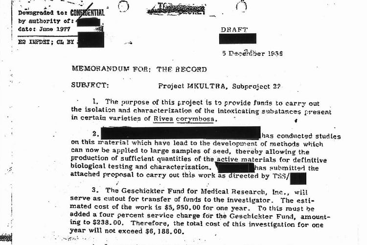 Project MKUltra: CIA's Cold War Conspiracy to Secretly