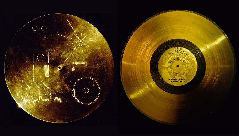 The Sounds of Earth Record Cover.