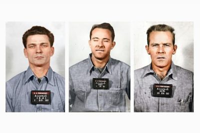 The escapees from Alcatraz prison.