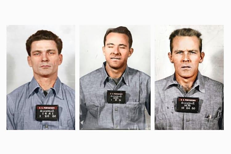 The escapees from Alcatraz prison.