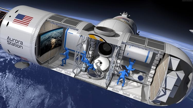 Space Tourism: Aurora Space Station