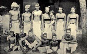A Thiyya family, 1900s.