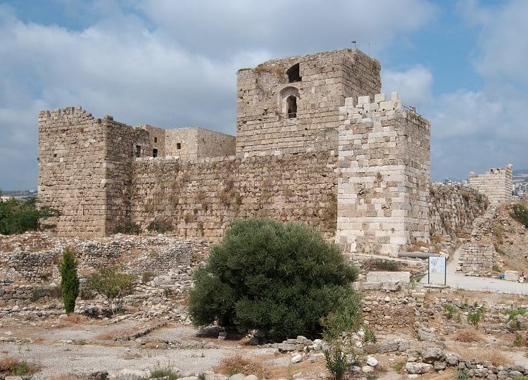 Byblos Castle.