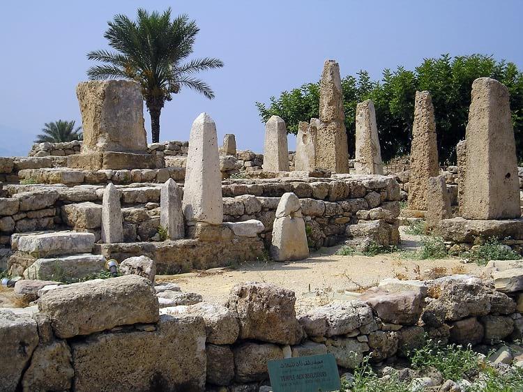Obelisk Temple, Byblos.