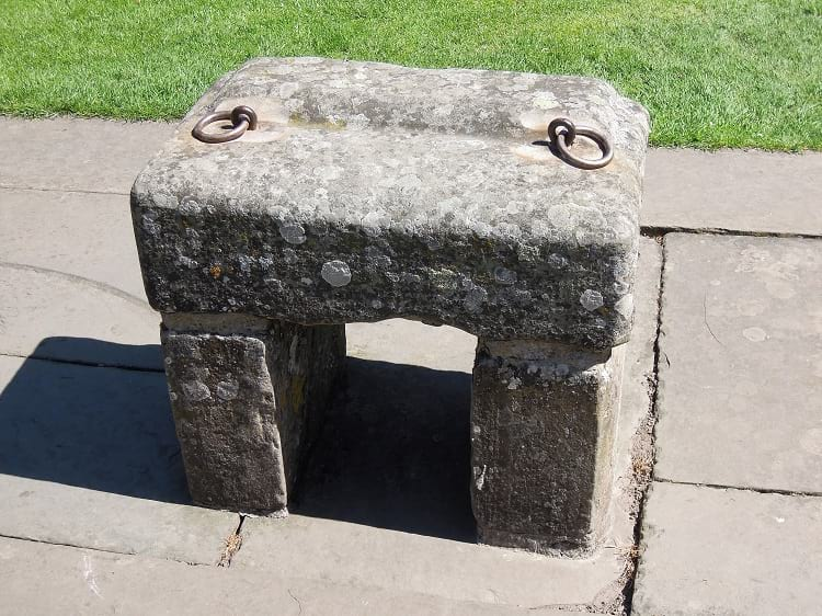 Replica of the Stone of Scone.