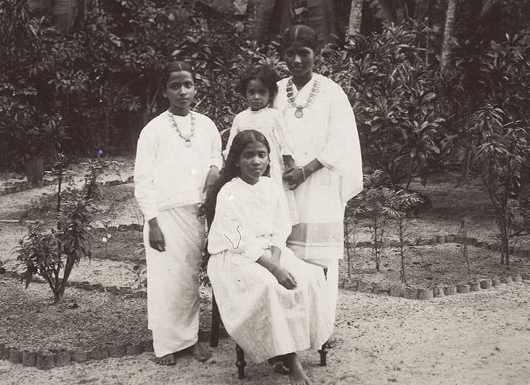 Syrian Christian women in Kerala.
