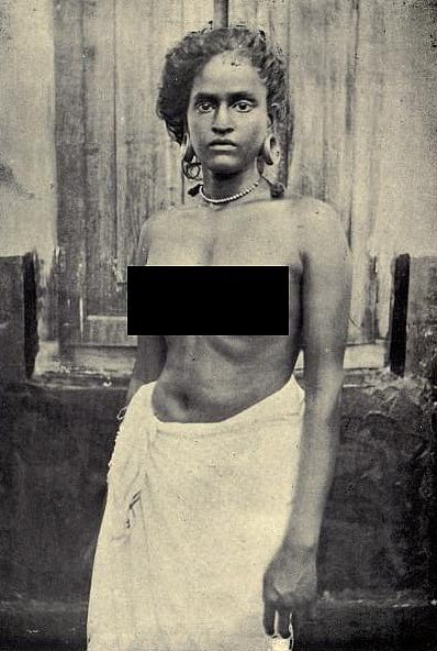 Breast Tax being imposed on lower caste woman in Kerala.