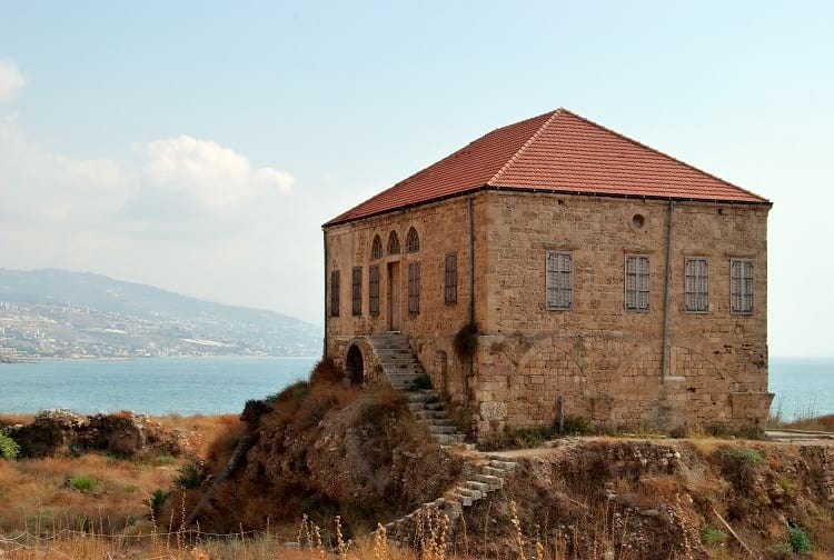 A traditional Lebanese house, Byblos.