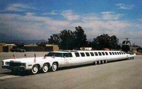 American dream limousine.
