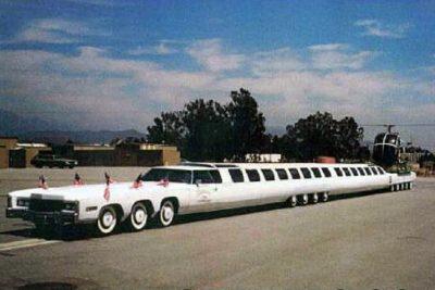 American dream limousine.
