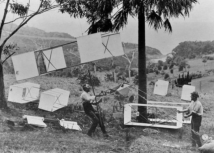 Lawrence Hargrave's box kite