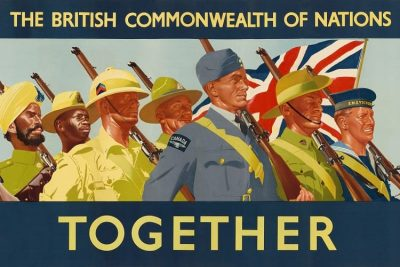 Commonwealth of Nations poster.