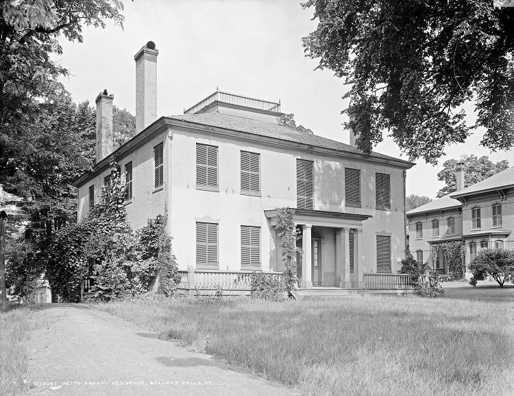 Hetty Green's residence.