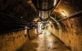 Paris sewers.