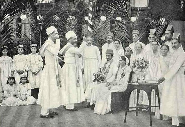 Zoroastrianism: A Parsi wedding.