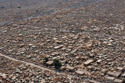 Aerial photo of Wadi-us-Salaam
