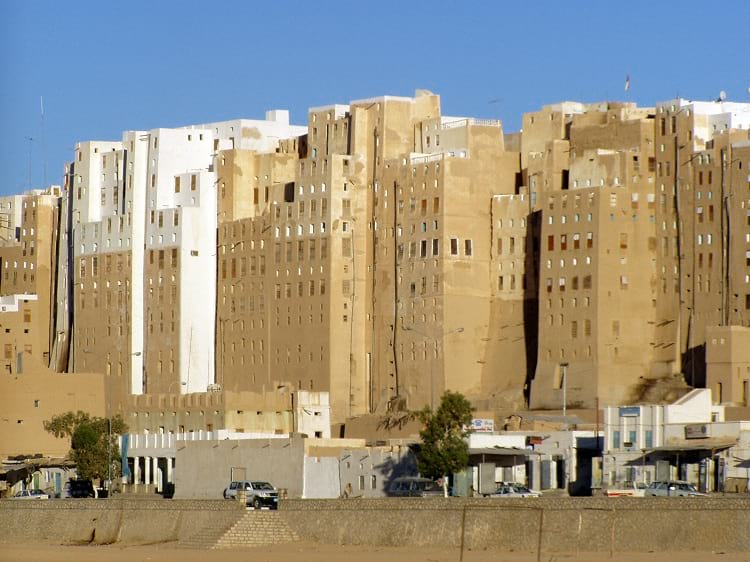 The mud skyscrapers of Shibam.