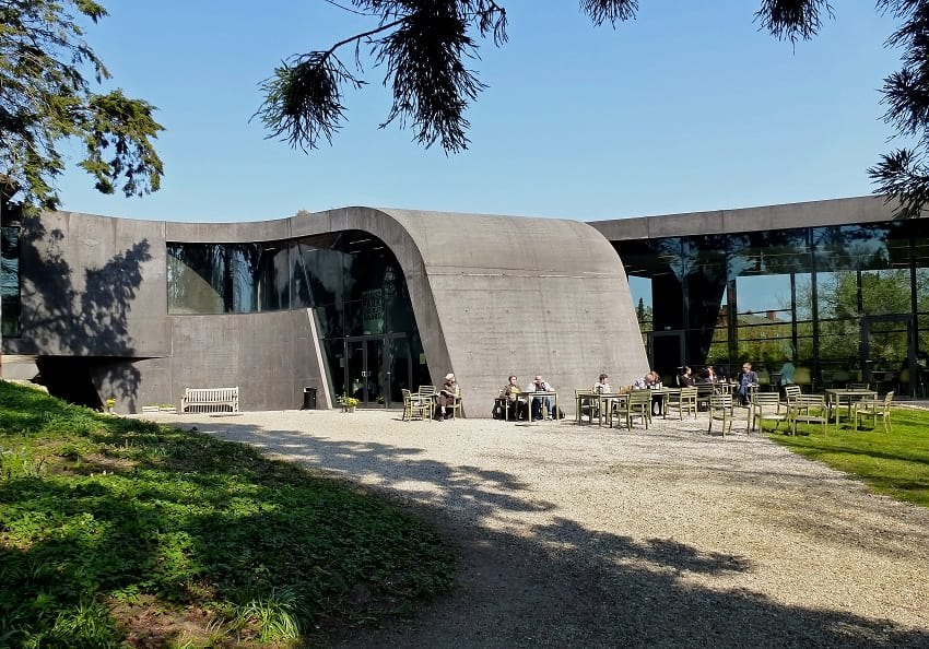 Ordrupgaard Museum extension by Zaha Hadid.