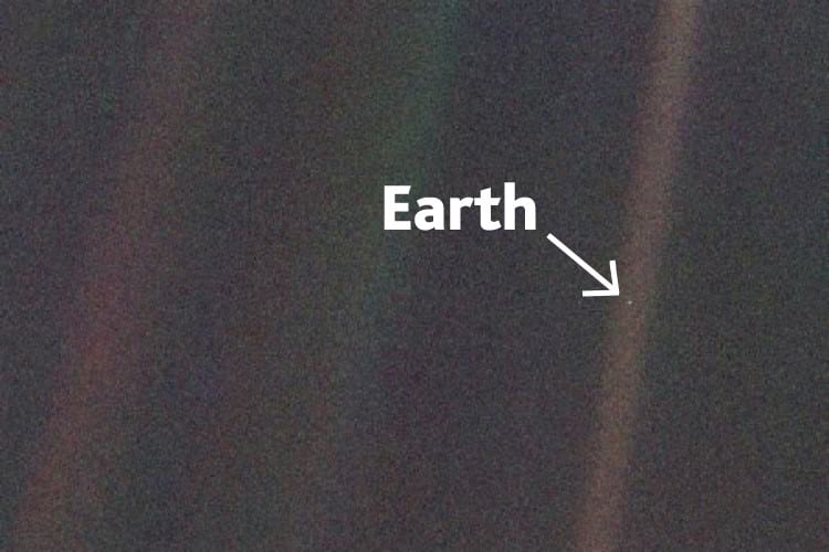 Pale Blue Dot.